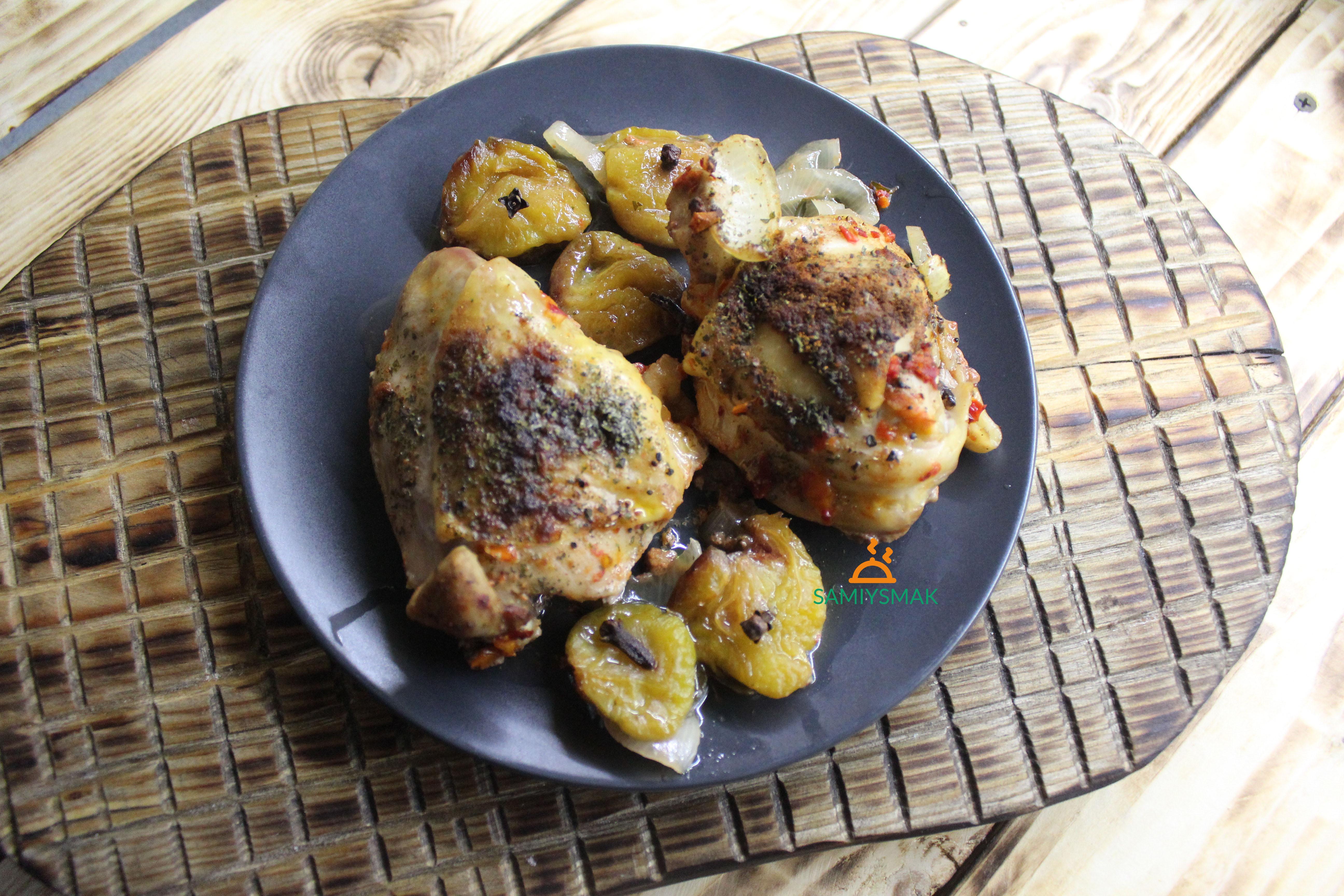 Вкусные бедра курицы