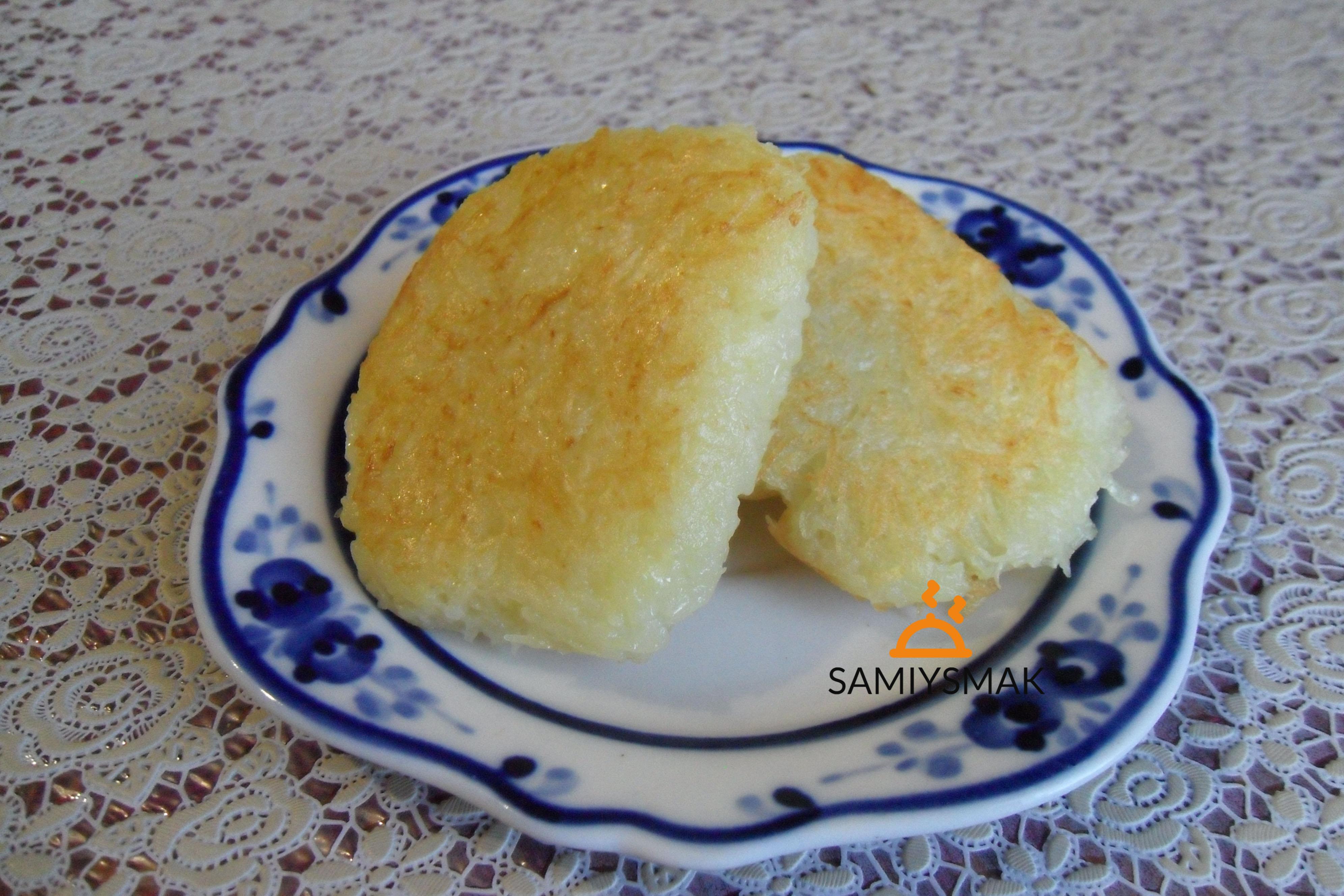 Драники картофельные без яйца на сковороде