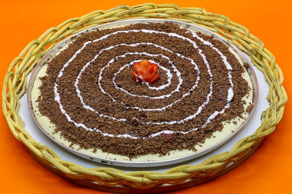 Шоколадная пицца рецепт в домашних условиях