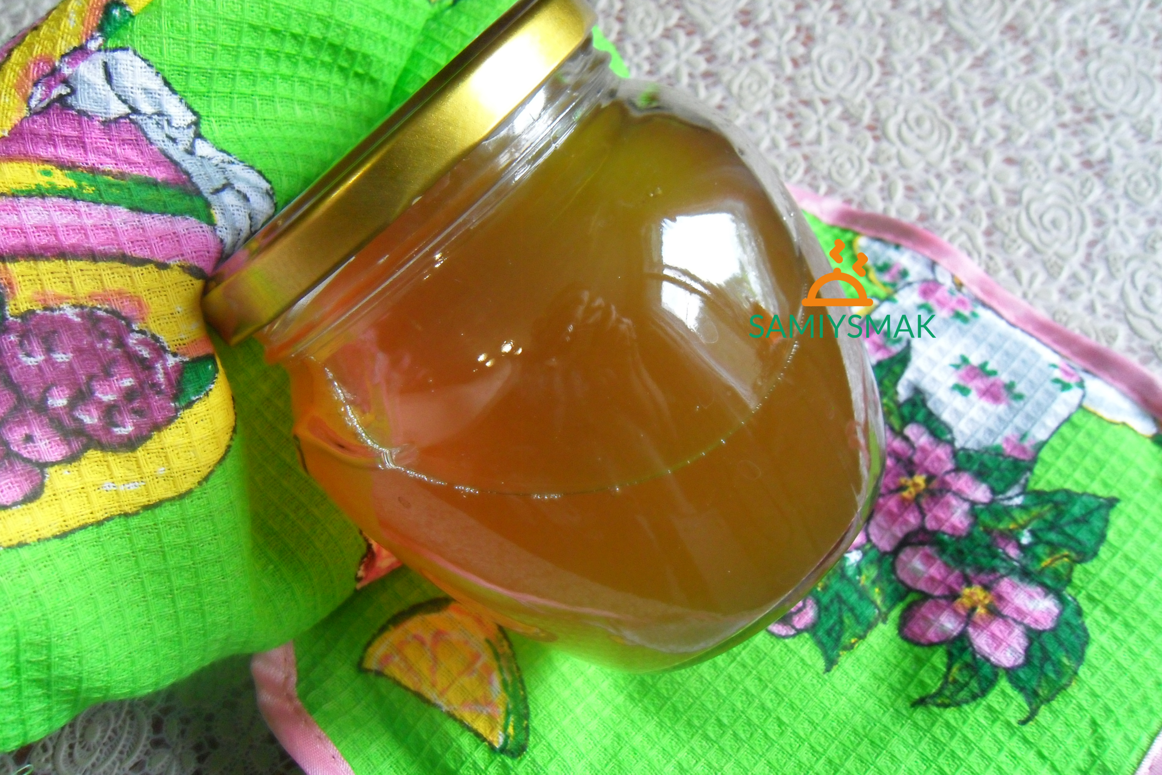 Мятное варенье с апельсином