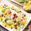 Луковые салаты со сметаной