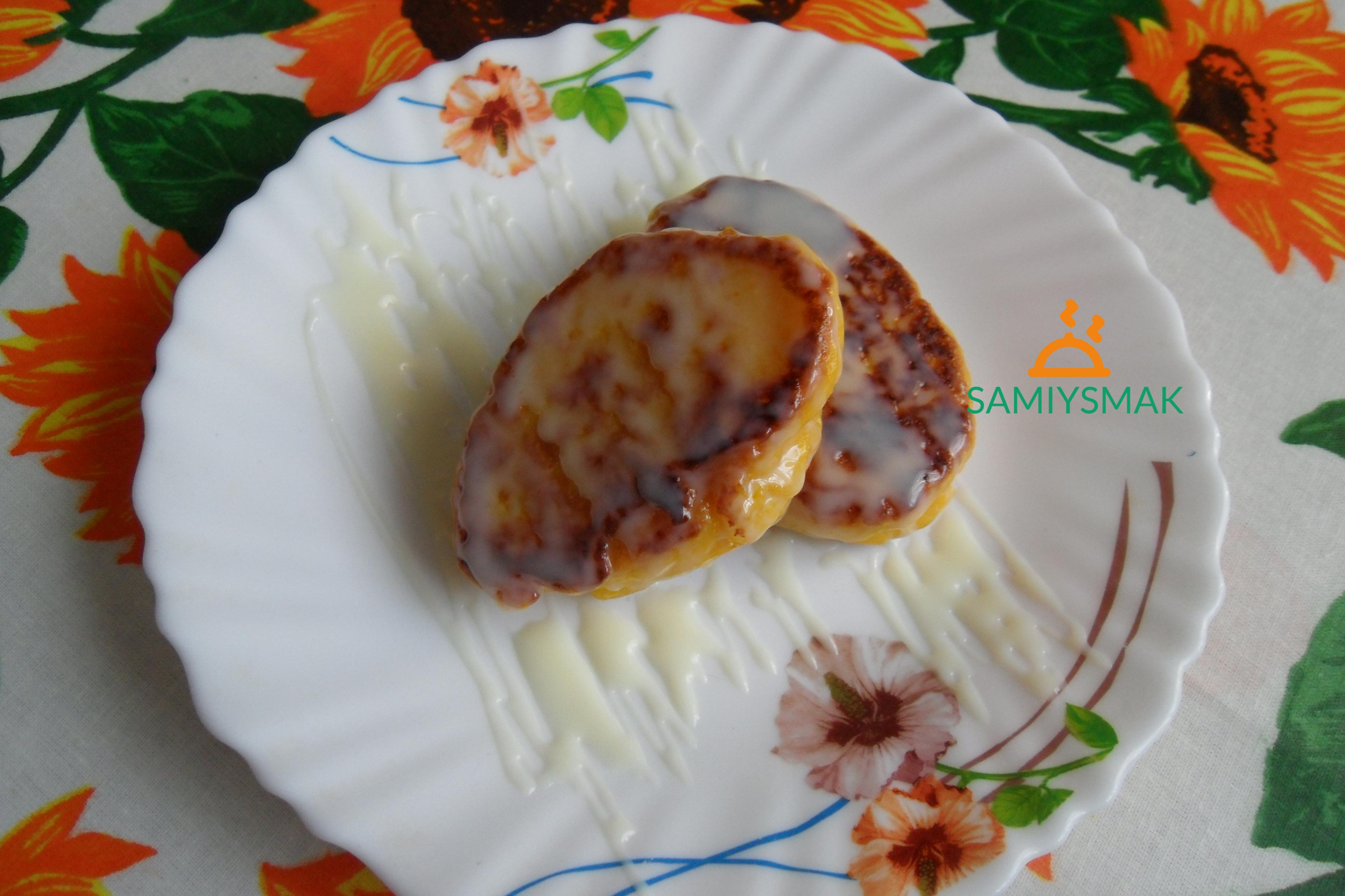 Пирожки из тыквы со сгущенкой
