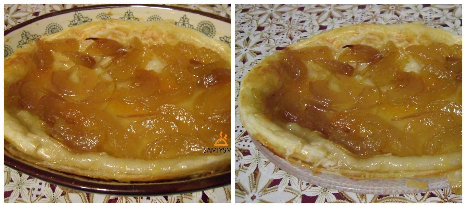 Тарт с абрикосовым вареньем