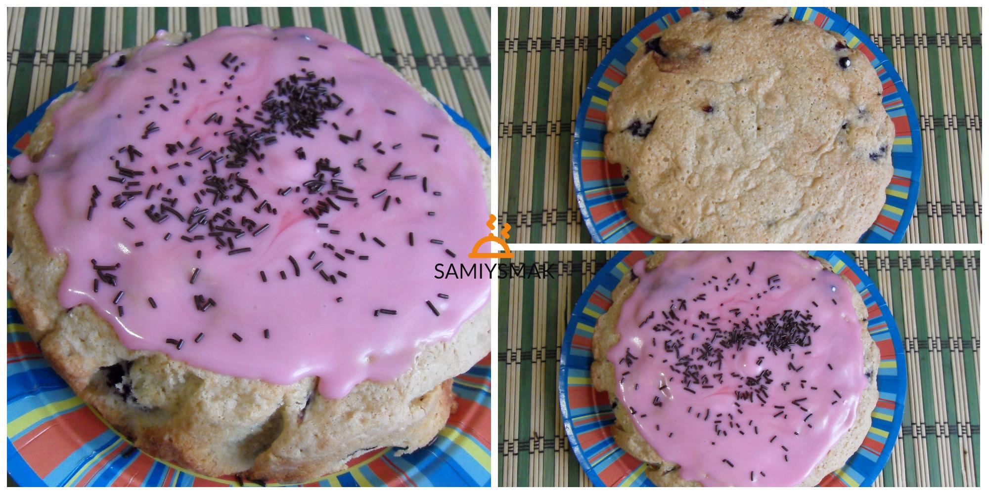 Пирог с глазурью по рецепту