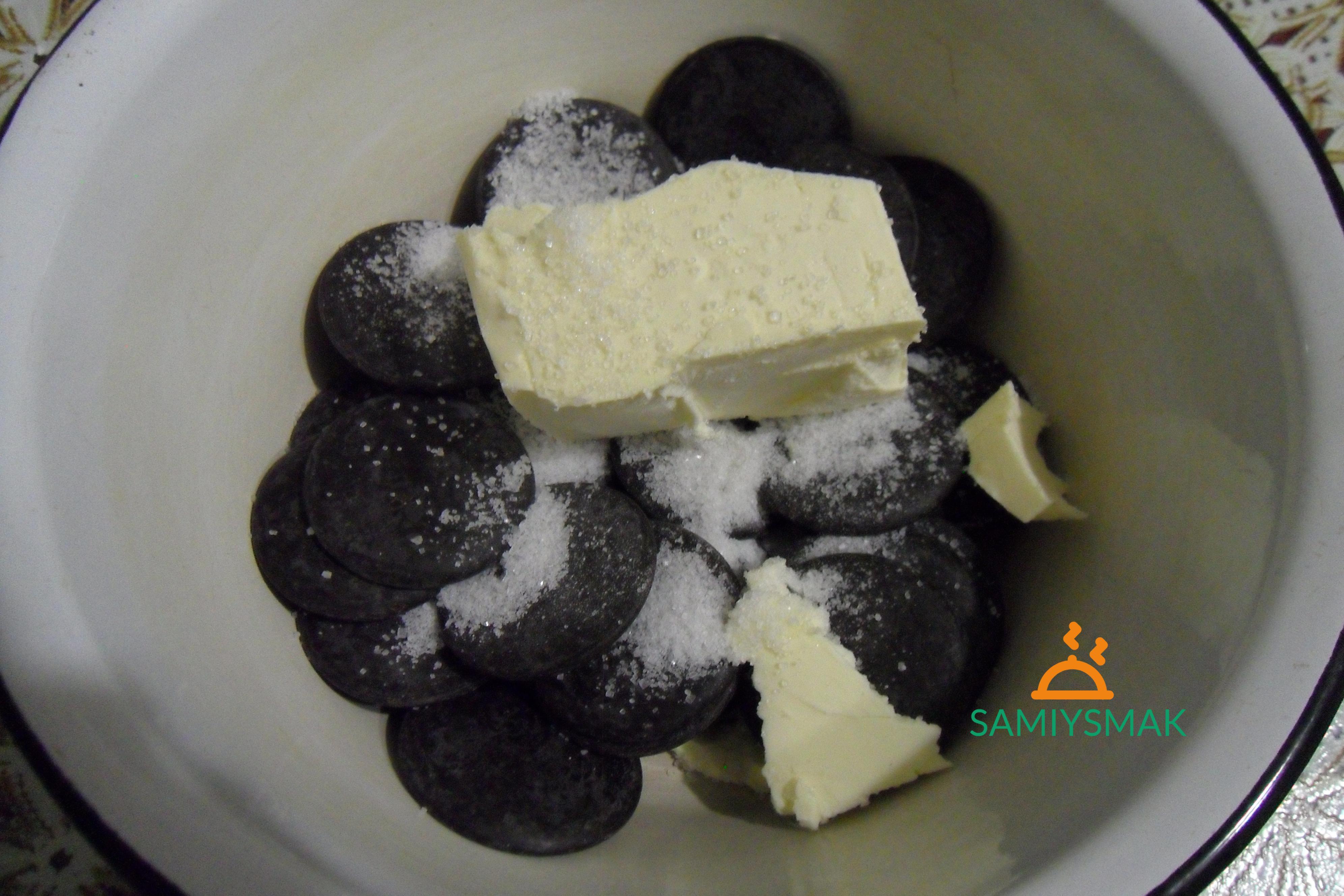 Шоколадные капли с маслом