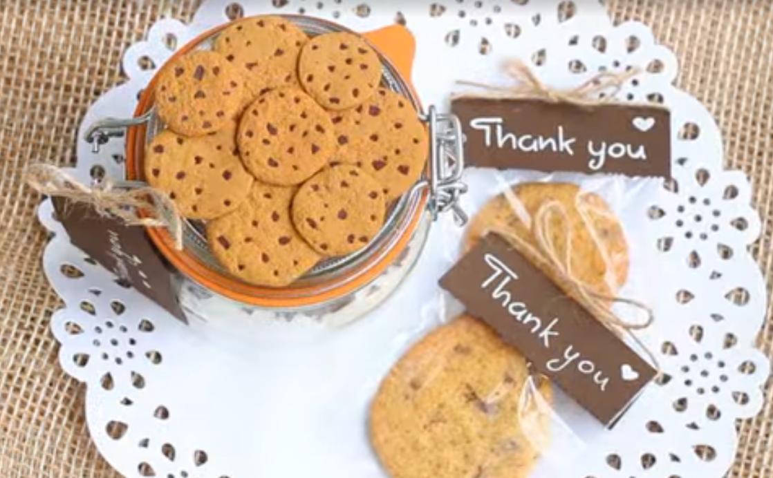 Печенье в банке в подарок