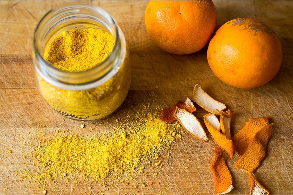 Сухая цедра апельсина