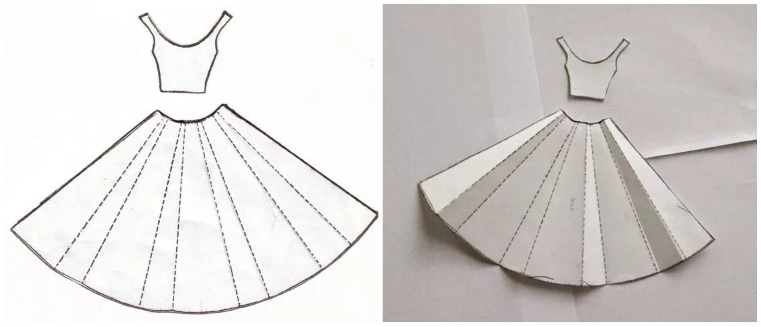 Шаблон для платья