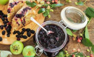 Рецепт джема из шелковицы