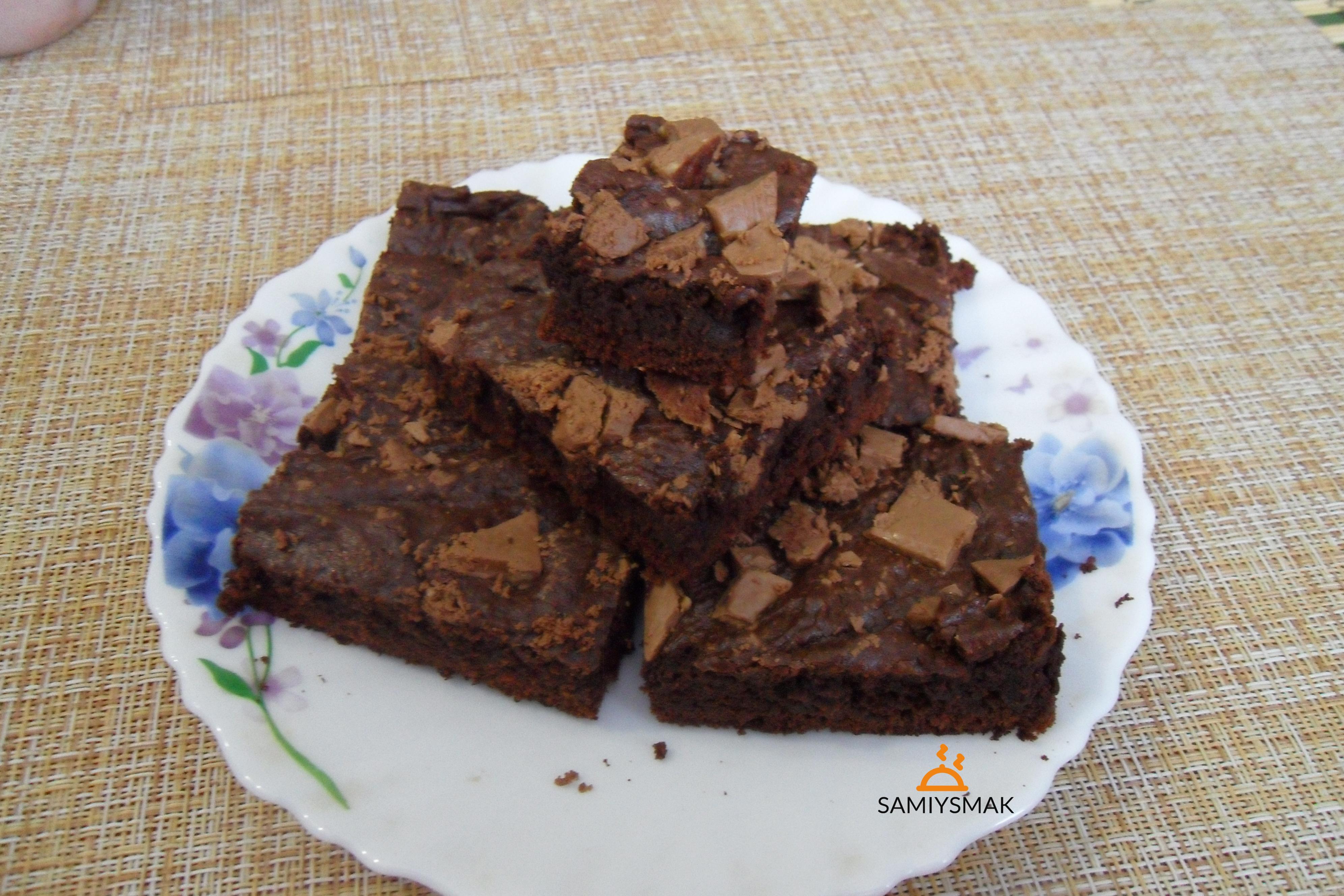 Классический брауни с какао в духовке