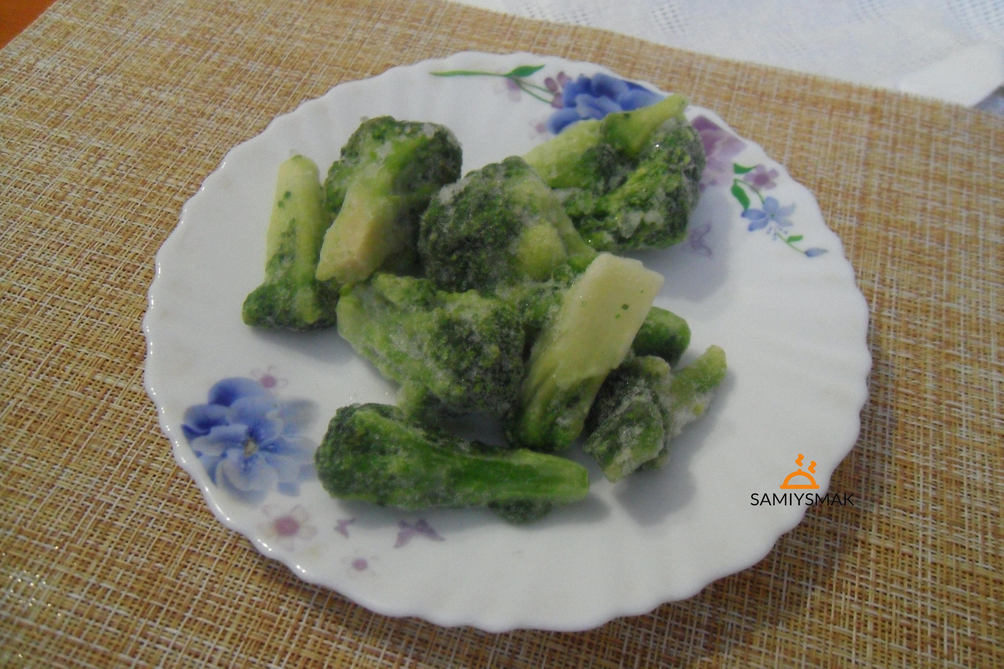 Мороженая брокколи вкусная