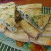 Греческая улитка со шпинатом и сыром