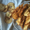 Яблочные чипсы с корицей домашние